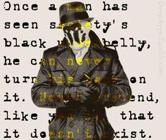 Watchmen / Rorschach Quote