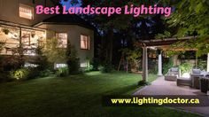 Planning the best use of #landscap_lights simply means determining how the landscape would look the best under the cover of darkness. determine the best #landscape_lighting here:- http://lightingdoctor.ca/  #landscapelightingcanada #calgary #canada #lightingdoctor