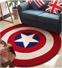Pattern Type: Captain AmericaDecoration Style: NewTechnics: Hand HookedMaterial: 100% AcrylicWash Style: Hand Wash Shipping to US 14-20 days. Worldwide 20-30 da