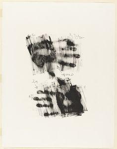 Jasper Johns. Hand. 1963