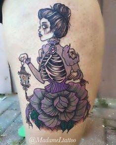 55 Cute Small Tattoo Designs for Women spooky beauty Cute Small Tattoos, Small Tattoo Designs, Tattoo Designs For Women, Unique Tattoos, Beautiful Tattoos, Spooky Tattoos, Skeleton Tattoos, Cute Halloween Tattoos, Body Art Tattoos