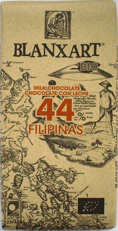 Blanxart 44% Filipinas con Leche