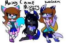the 3 main OC on camp mistory