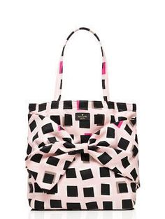 Loving this on purpose pastry pink tote by kate spade new york...best part: made in Rwanda and proceeds profit the villages of the women who made them! I like!