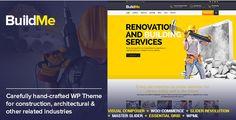 Themeforest WordPress: BuildMe – Construction