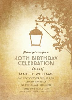 Birthday Celebration Invitation Template Enchanting Lace Pearls Country Wood 60Th Birthday Invitations  Pinterest .