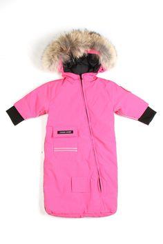 baby's canada goose coat