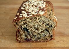 Blueberry Protein Banana Bread