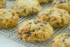 Levain Bakery Chocolate Chip Cookies by @Michelle (Brown Eyed Baker) :: www.browneyedbaker.com