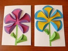 Inspire your kids to discover the creative world of paper crafts for weekend or holiday fun. These awesome yet easy DIY paper crafts for kidsguarantee great fun and learning too. Paper Crafts For Kids, Preschool Crafts, Diy Paper, Paper Art, Arts And Crafts, Preschool Teachers, Spring Art, Spring Crafts, Art N Craft