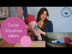 Schultüte nähen | Zuckertüte | Tutorial | DIY Nähanleitung | mommymade - YouTube
