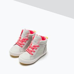 ZARA - KIDS - BASKETBALL BOOT