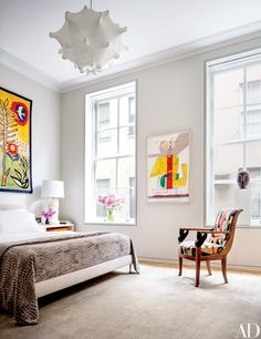 Steven Harris and Lucien Rees Roberts's Spacious New York City Loft Photos | Architectural Digest