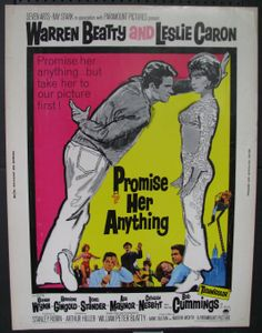 'Promise Her Anything'  -  Warren Beatty & Leslie Caron  1966