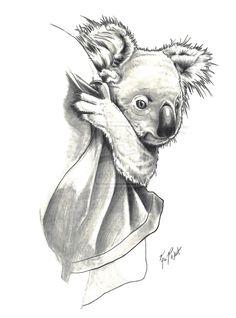 koala by FREAKCASTLE on deviantART