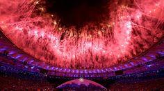 Olympiasause mit Botschaft und Pfiffen: Der Anfang vom Ende steht Rio gut