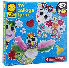 Kids' Paper Craft Kits - ALEX Toys Little Hands My Collage Farm * More info could be found at the image url.