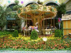 The Bellagio Carousel.