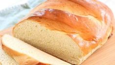 Country French Bread recipe made with simple ingredients & detailed instructions showing how to make bread! Done in just over an hour and is a showstopper! Sandwich Bread Recipes, Easy Bread Recipes, Cooking Recipes, Cooking Stuff, Easy White Bread Recipe, Best Bread Recipe, Buttermilk Bread, Homemade Buttermilk, Beginners Bread Recipe
