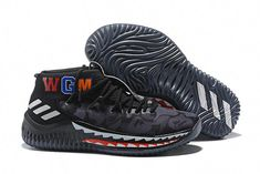 """51679e4e8b4033 2018 BAPE x adidas Dame 4 """"Black Camo"""" Men s Basketball Shoes AP9975 – New"""