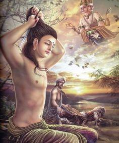 V.-VI. Remeteségbe távozás, Cshanda hazaküldése (The World of Lord Buddha: Life Story Of Lord Buddha)
