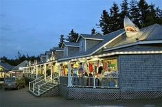 The Boardwalk in Cavendish. THE place to go for souvenirs and ICE CREAM at COW'S! Every night!