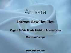 What is ARTISARA? It is a new vegan and fair-trade fashion accessories brand made in Europe.  www.artisara.com
