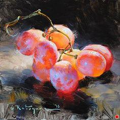 Красный виноград купить Елена масло Katsyura ~ 6 В x 6 в