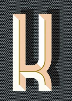 Ferm Living Bau Deco Letter Posters from House&Hold Typography Love, Typography Letters, Graphic Design Typography, Lettering Design, Typographie Inspiration, Typographic Poster, Typo Poster, Types Of Lettering, Type Design