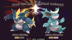 lendario(a) nidoqueen and nidoking Oc Pokemon, Pokemon Moon, Pokemon Fan Art, Pokemon Fusion, Pokemon Breeds, Dinosaur Cards, Types Of Fairies, Original Pokemon, Pokemon Pictures