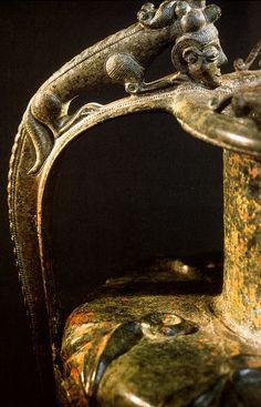 CELTIC   Detail of handle. after Moosleitner  Salzburg: Museum Carolino Augusteum.