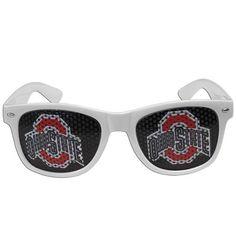 Ohio State Buckeyes Game Day Retro Sunglasses