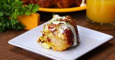 Bacon, Egg & Cheese Monkey Bread Is Breakfast Fare Made to Share