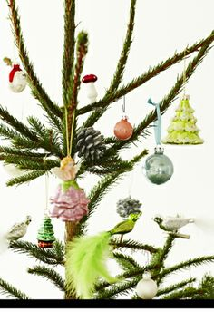 cute for a christmas tree with a lot of space between branches