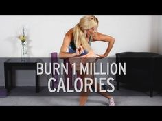 I love this girl! She cracks me up and makes me want to keep working out. Best Exercises For Burning Calories - YouTube