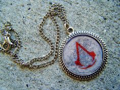 Assassins Creed  Necklace by SuperfastSpider on Etsy, $8.99