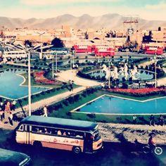 Imam Hosein (Fouzie) square in 1960.