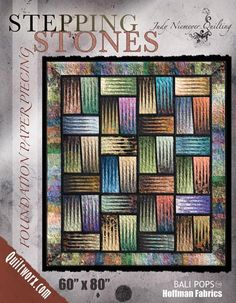 Canton Village Quilt Works: Shop | Category: All Patterns | Product: Stepping Stones Basic Pattern