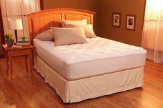 Restful Nights Egyptian Cotton Mattress Pad Full-Size Mattress Pads