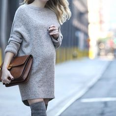 38 Superchic Maternity Outfits to Help You #StyletheBump
