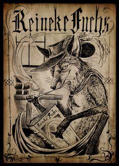 """Reineke Fuchs"" - Reynard Fox by Culpeo-Fox @ deviantart.com"