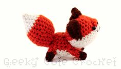 Red Fox Amigurumi - Crochet plush toy - MADE TO ORDER. $15.00, via Etsy.