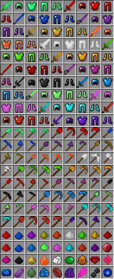 Minecraft mods Gems Plus 1.5.2/1.6.4   Download Free Minecraf Mod
