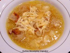 Czeska zupa czosnkowa | Kuchnia Starowiejskiej Gospodyni