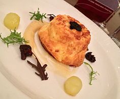 Twice Baked Caerphilly Cheese Souffle - from Peterstone Court hotel in the Brecon Beacons  http://www.rarebits.co.uk/recipes-twice-baked-caerphilly-cheese-souffle