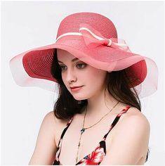 bf27f410 32 Best floppy straw sun hat for women images   Sun hats for women ...