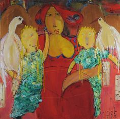 Fuglevenner af Birte Clair