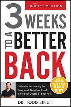 Riding & Writing...: 3 Weeks to a Better Back by Dr. Todd Sinett