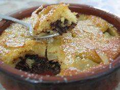 Amandine aux poires et chocolat - Tasties Foods