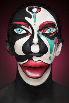 Creative Makeup Photographed by Alexander Khokhlov | helloodesigner